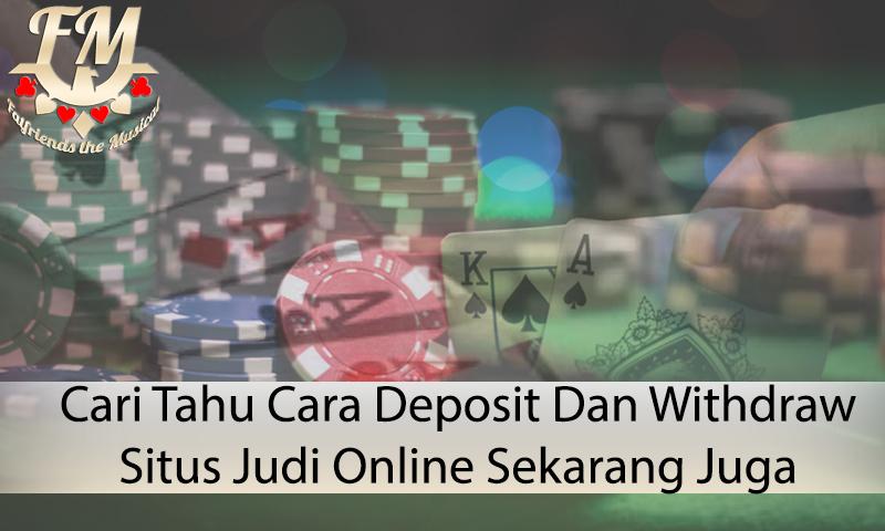 Situs Judi Online Sekarang Juga - Informasi Judi Online Terpercaya